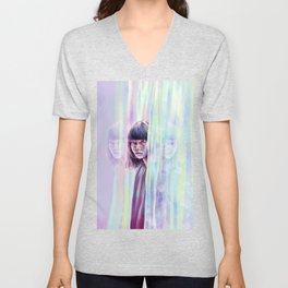 Reflections to Crumble. Unisex V-Neck