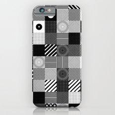 B & W Pop Pattern iPhone 6s Slim Case