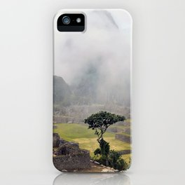 Machu Picchu ruins - Peru iPhone Case