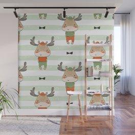 cute reindeer Wall Mural
