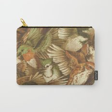 Red-Throated, Black-capped, Spotted, Barred Carry-All Pouch
