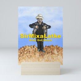 Hip Hop Hanukkah Painting, Sir Mix-a-Latke Mini Art Print