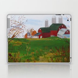 The View from Summers Road Laptop & iPad Skin