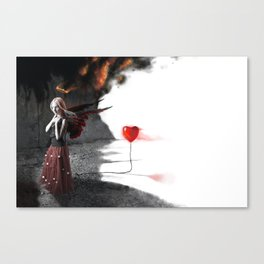 Burning Love Canvas Print