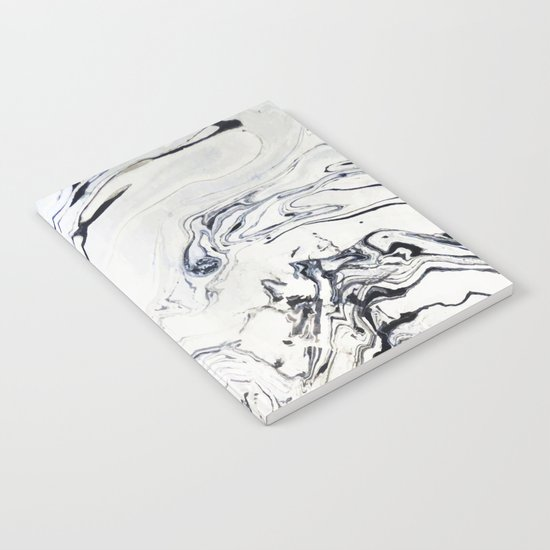 Marble Art V12 #society6 Notebook