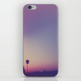 a summer night iPhone Skin