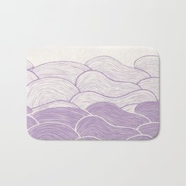 The Lavender Seas Bath Mat