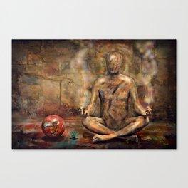Kraftfelder Canvas Print