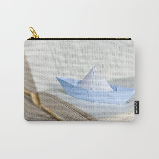 Little paper boat Carry-All Pouch