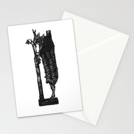 Ram in a Thicket Stationery Cards