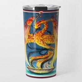 Phoenix from the Ashes Travel Mug