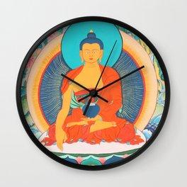 Sakyamuni Wall Clock