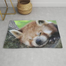 Red_Panda_20150705_by_JAMFoto Rug