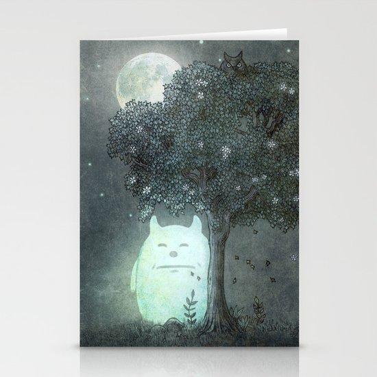 Full Moon Spirit  Stationery Cards
