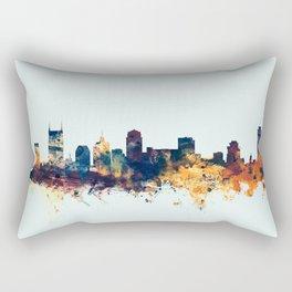Nashville Tennessee Skyline Rectangular Pillow