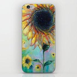 Supermassive Sunflowers iPhone Skin