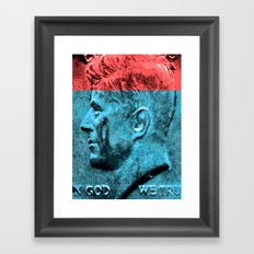 IN GOD WE TRUST Framed Art Print