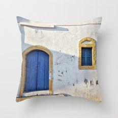 Mediterranean Throw Pillow