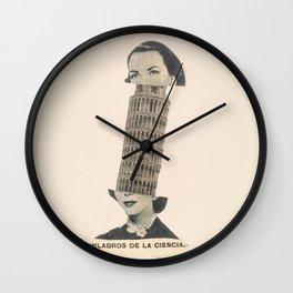 Milagros de la ciencia Wall Clock