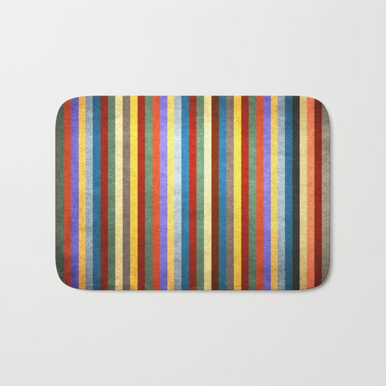 Crazy Stripes Bath Mat