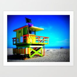 Baywatch Art Print