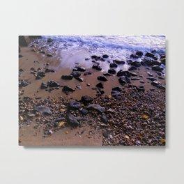 Rocas del Mar Metal Print