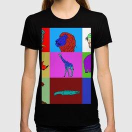 Pop Art African Animals T-shirt