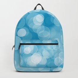 Blue Bokeh Backpack