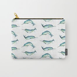 Narwhal Study Carry-All Pouch