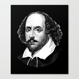 William Shakespeare - The Bard Canvas Print