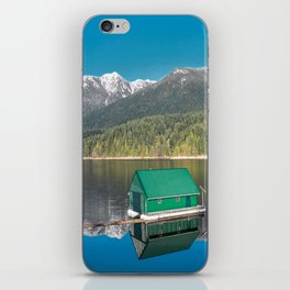 Capilano Lake  - reservoir iPhone Skin