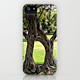 Dance of the Olive Tree iPhone Case