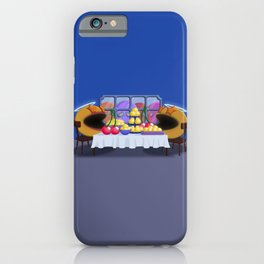 """""""You prepare a table before me in the presence of my enemies."""" Psalm 23:5 iPhone Case"""