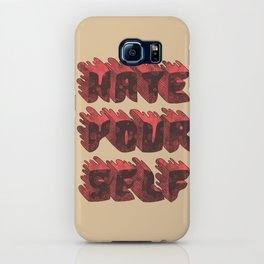 Hate Yourself iPhone Case