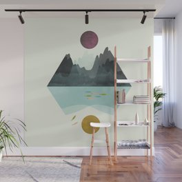 Storm and Calm Wall Mural