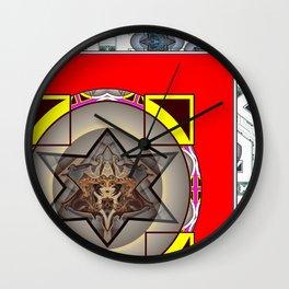 Melach metal Wall Clock