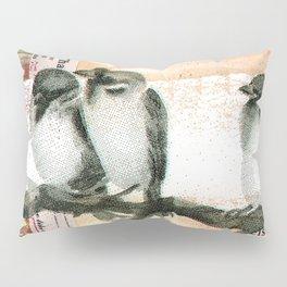 Vintage birds Pillow Sham