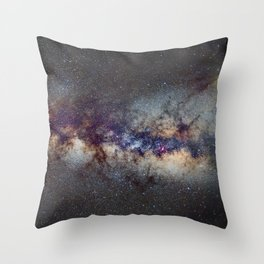 The Milky Way: from Scorpio and Antares to Perseus Throw Pillow