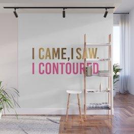 I Came I Saw I Contoured Wall Mural