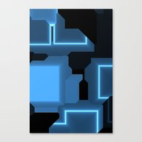 tron Canvas Prints featuring Tron by Fine2art