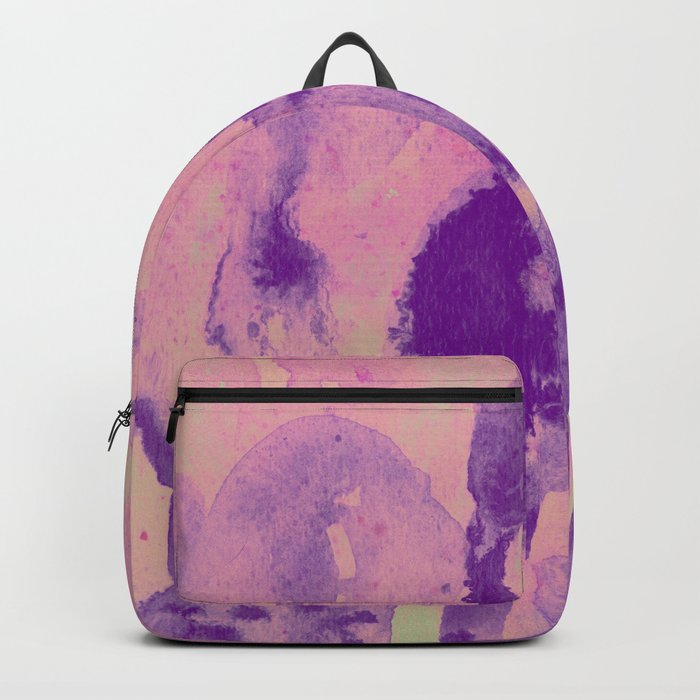 pink garden Backpack