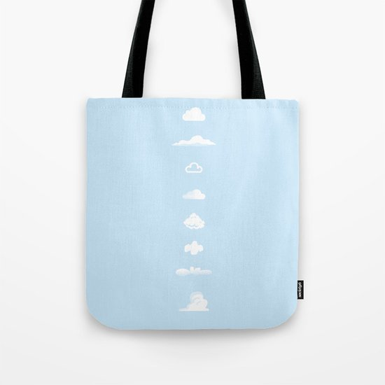 Famous Clouds Tote Bag