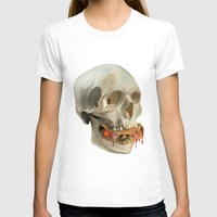 taco T-shirts featuring Death By Taco by Fontolia (Katie Blaker)