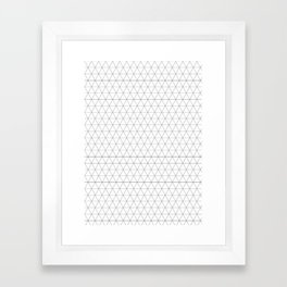 Geometric, Print, Minimal, Scandinavian, Abstract, Pattern, Modern art Framed Art Print