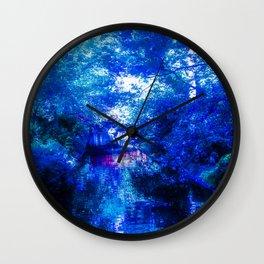 Blue Sanctuary Wall Clock