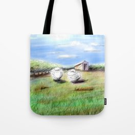 Shiny Virtual Sheep Tote Bag
