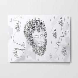 Mimicry Metal Print
