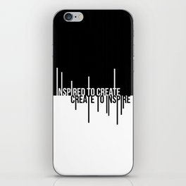 Create to Inspire iPhone Skin