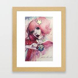 Color Me Pink Framed Art Print