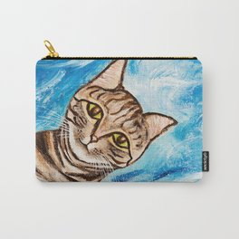 Hello Tabby Carry-All Pouch